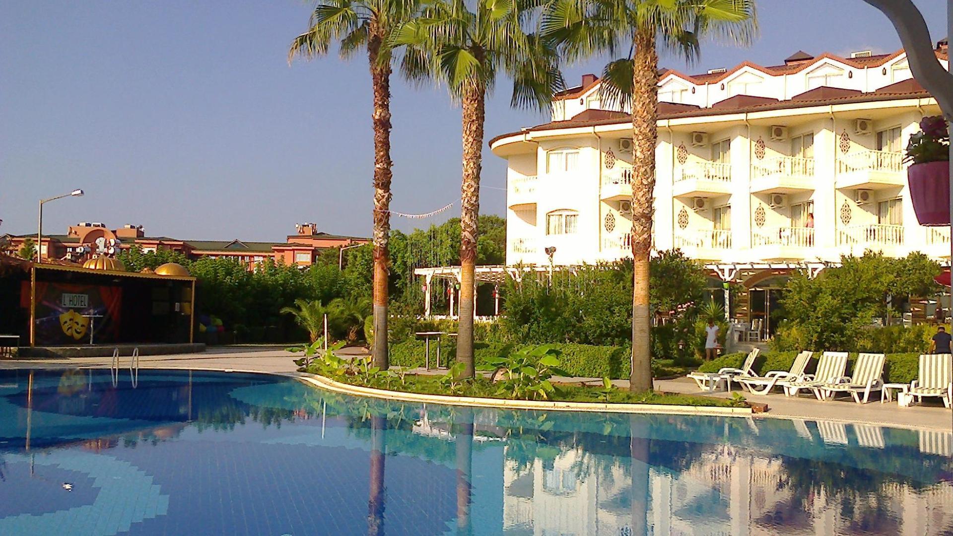 самом деле турция отель лариса султан бич в картинках может быть таким