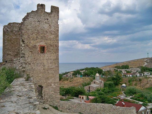 Крым: Феодосия